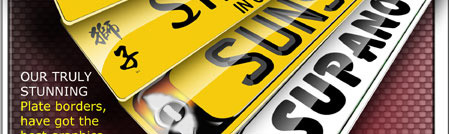 Order Acrylic Number Plates and registration plates Online NOW! Next day delivery in the UK.