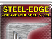 CLICK HERE - This STEEL-EDGE BORDER can be found under Show Plate: Border Type: ---3D GEL STEEL EDGE--- then start designing your custom show plates